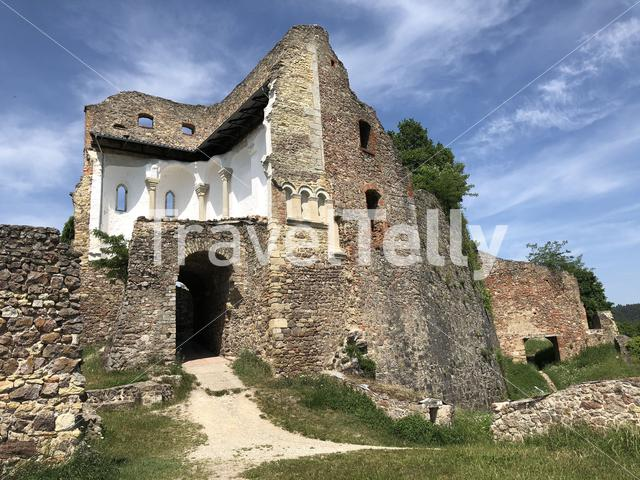 The Donaustauf Castle in Germany