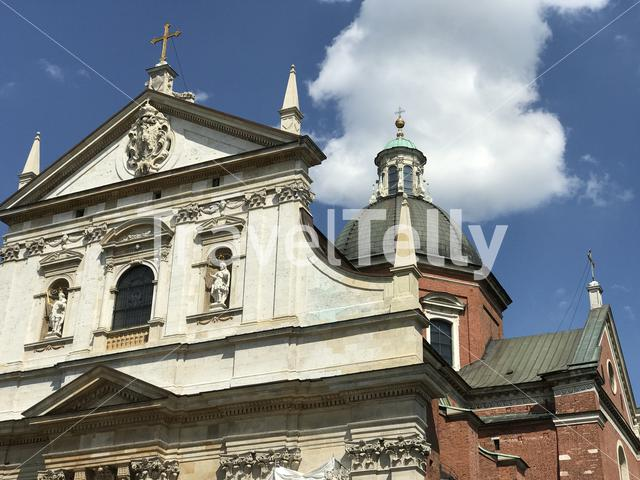 Church of Saints Peter and Paul in Krakow, Poland