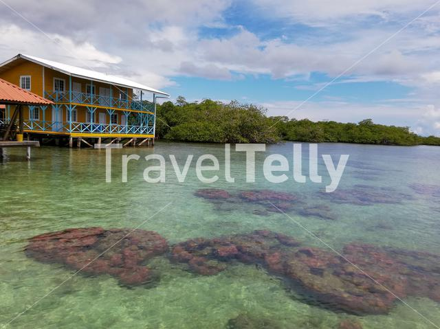 Clear Water in Cayo Coral, Bocas Del Toro