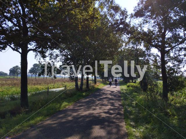Cycling in Overijssel, The Netherlands