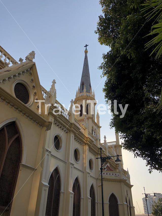 Holy Rosary Church in Bangkok, Thailand