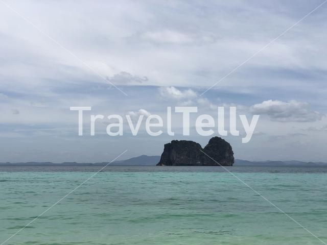 Koh ma seen from Koh Ngai Thailand