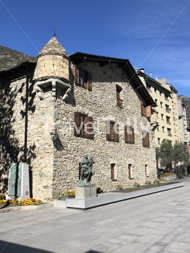 Old town of Andorra la Vella