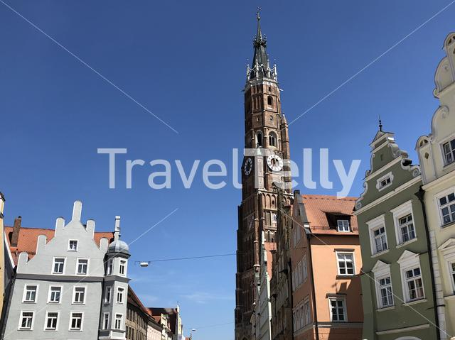 St. Martin's church in Landshut Germany
