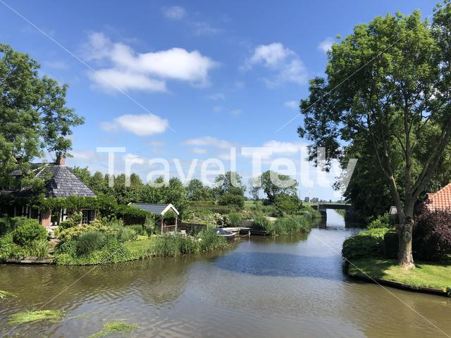 The village Bartlehiem in Friesland The Netherlands