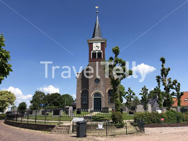 Church in Lollum, Friesland, The Netherlands