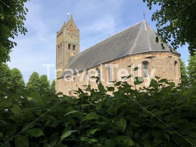 Church in Jorwert, Friesland The Netherlands