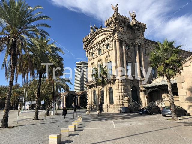 Tax Collector's Office builsing in Barcelona Spain