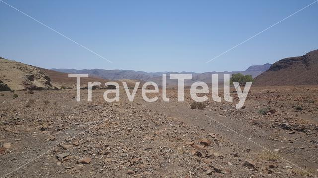 Scenery around Puros in Namibia