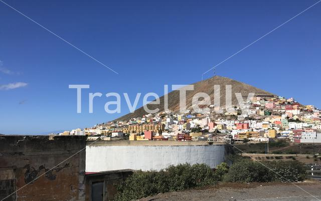 Houses in Galdar Gran Canaria Canary Islands Spain