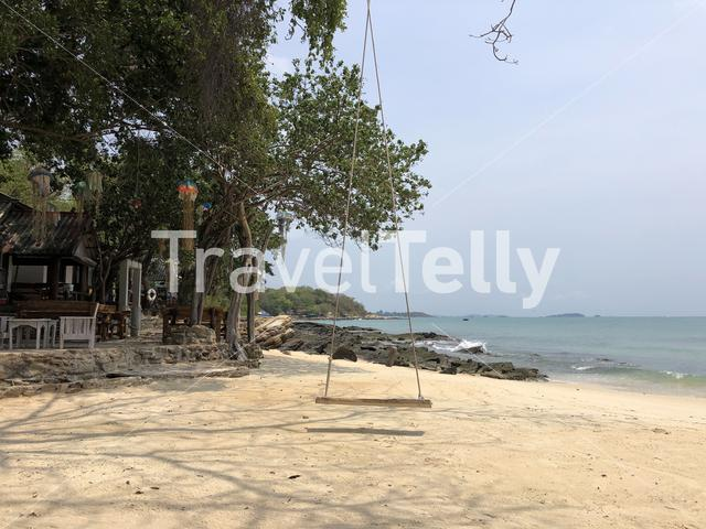 Swing at the beach on Koh Samed island in Thailand