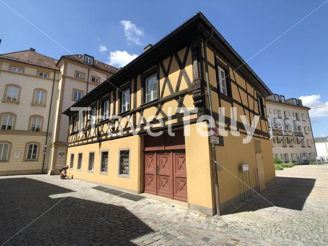 Old Timber-Frame House in Bamberg, Germany