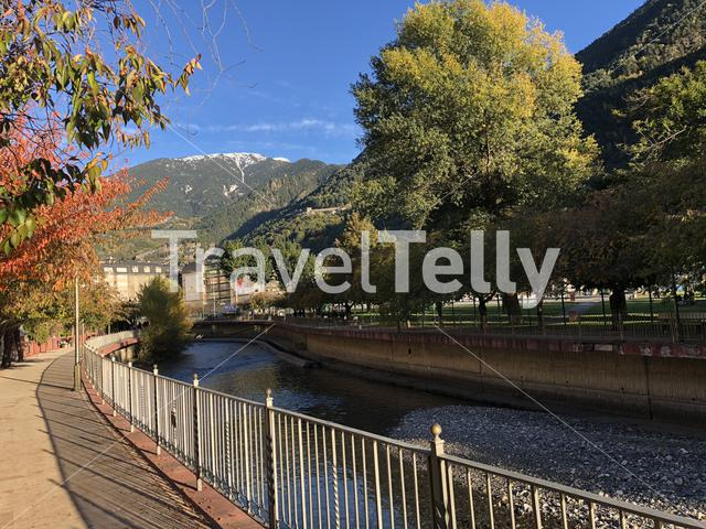 Autumn in Andorra la Vella