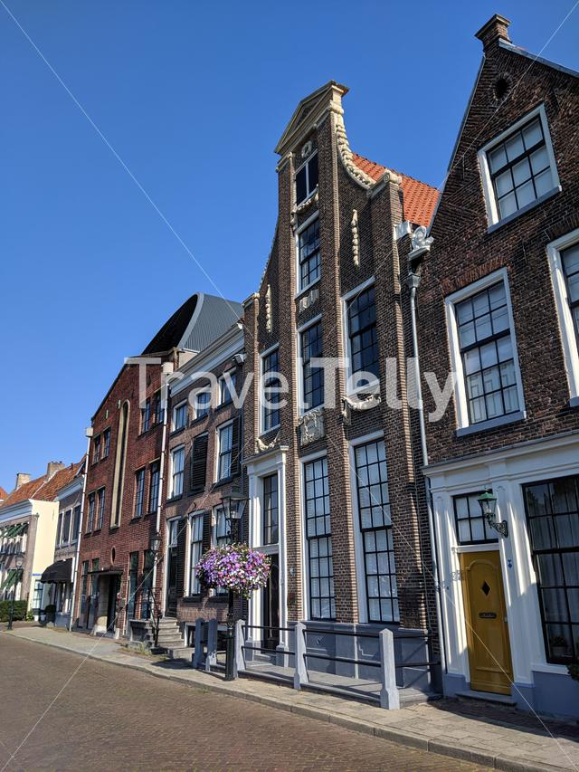 Old town architecture in Zwolle, The Netherlands