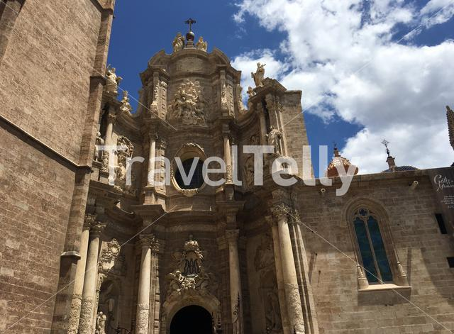 Valencia cathedral in Spain