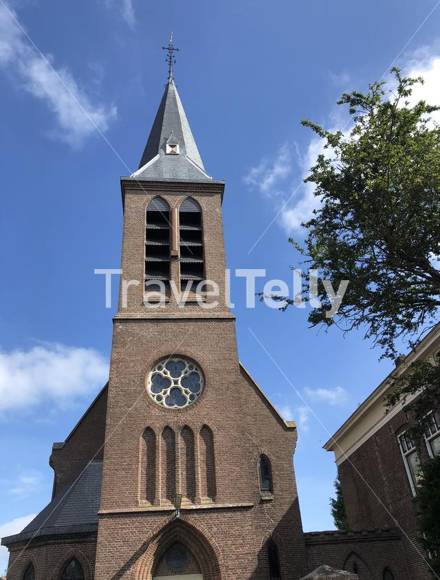 Sint-Jozef church in Heeg, Friesland The Netherlands