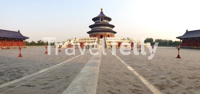 Panorama Temple of Heaven (Altar of Heaven) a complex of religious buildings situated in the southeastern part of central Beijing China