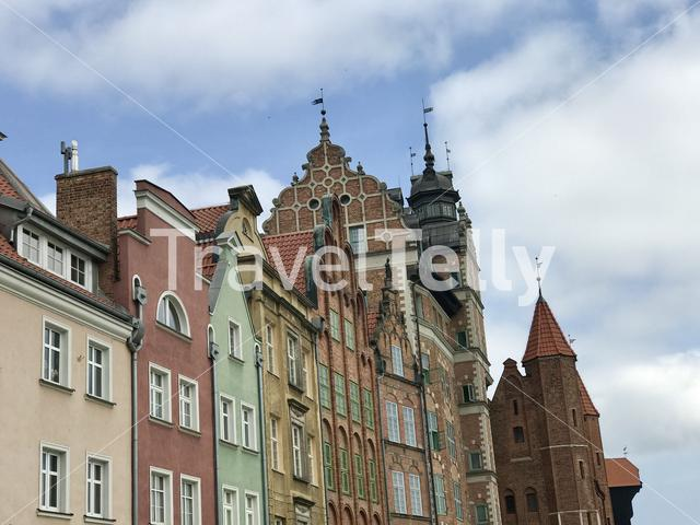 Architecture in Gdansk Poland