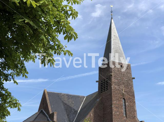 East church in Kollum, Friesland The Netherlands