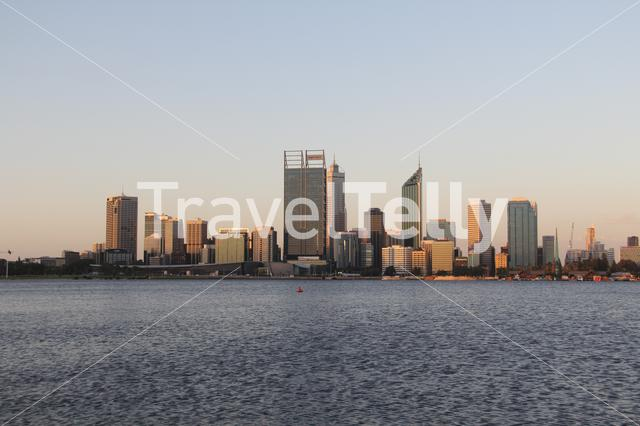Perth Skyline in Australia