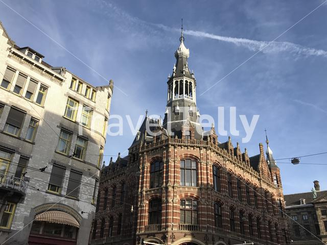 Magna Plaza in Amsterdam The Netherlands