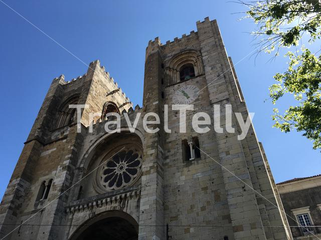 The Roman Catholic Lisbon Cathedral in Portugal