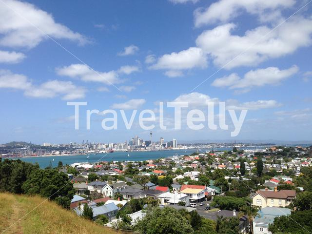 Auckland skyline from Mount Victoria