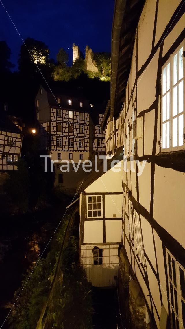 Typical Germany house in Monschau