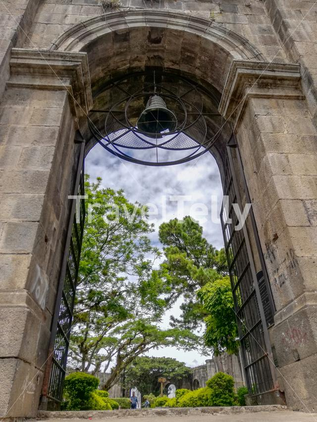 Ruins of the Cartago Church in Costa Rica