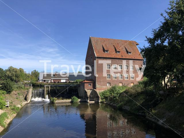 Historic watermill in Stadtlohn, Germany