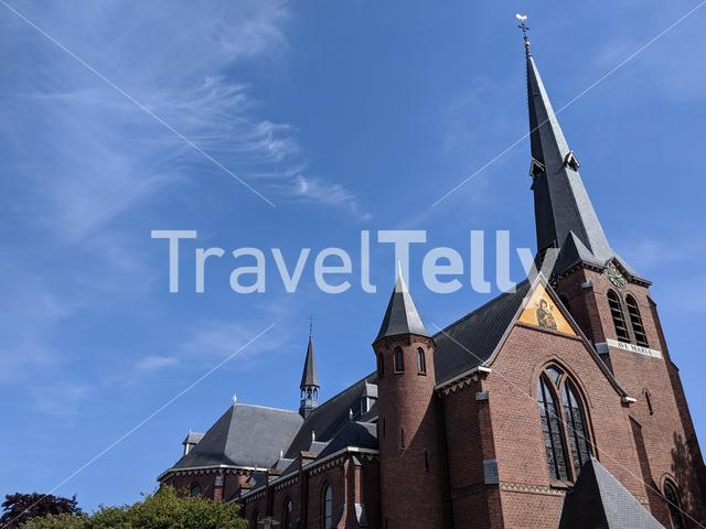 Catholic church in Mariaparochie, The Netherlands