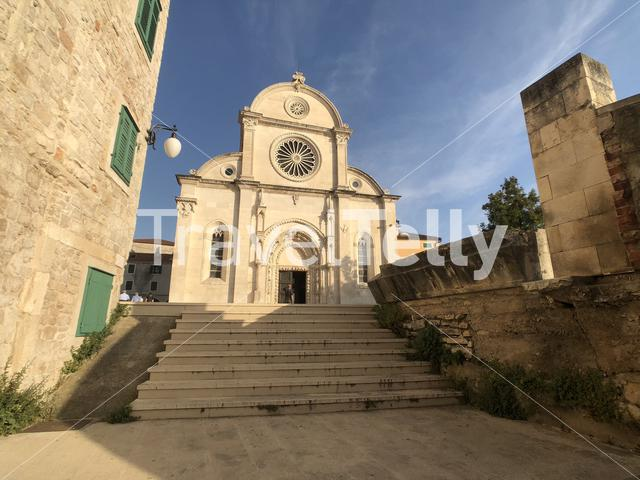 The Cathedral of St. James in Sibenik, Croatia