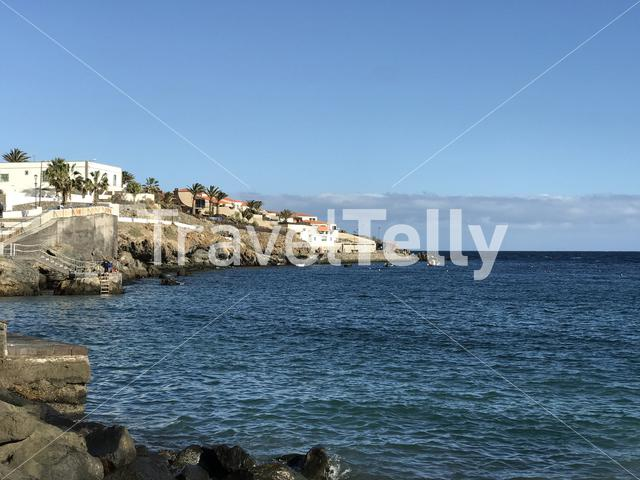 Houses at Poris de Abona Tenerife Canary Islands