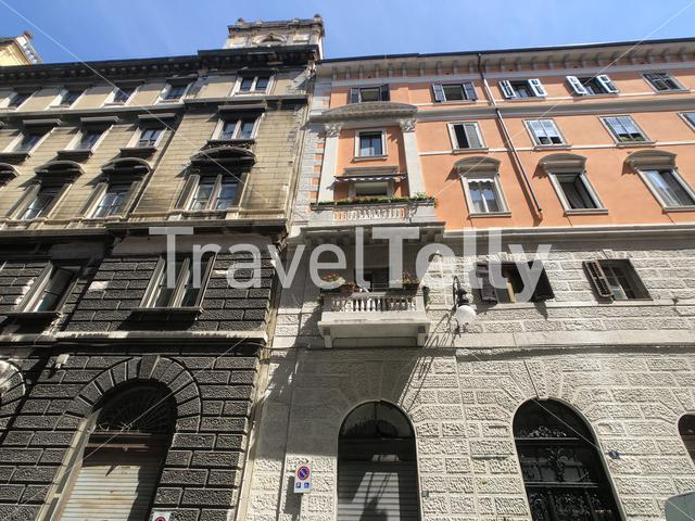 Architecture in Trieste Italy