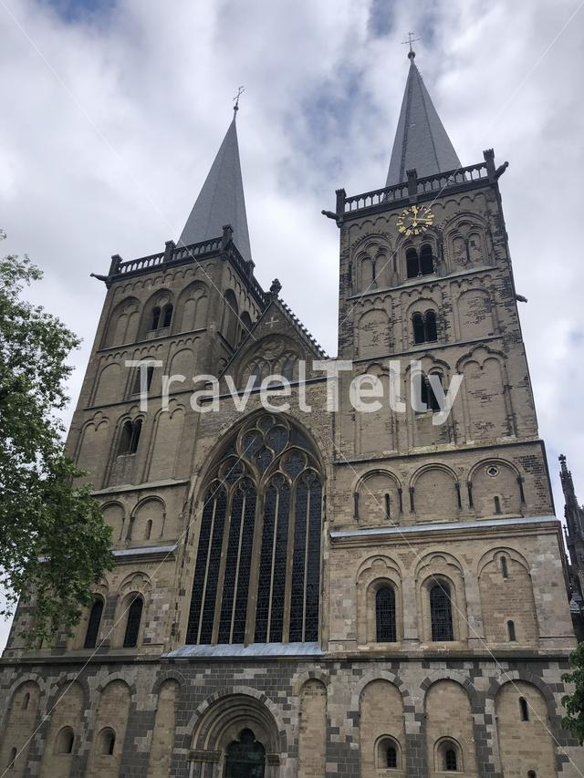 Xanten Cathedral in Germany
