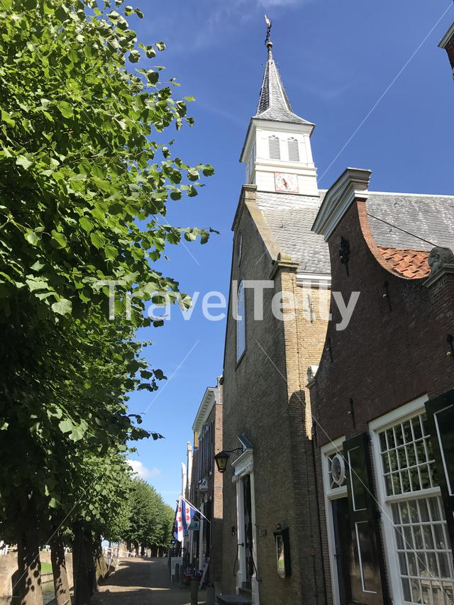 Church in Sloten, Friesland The Netherlands