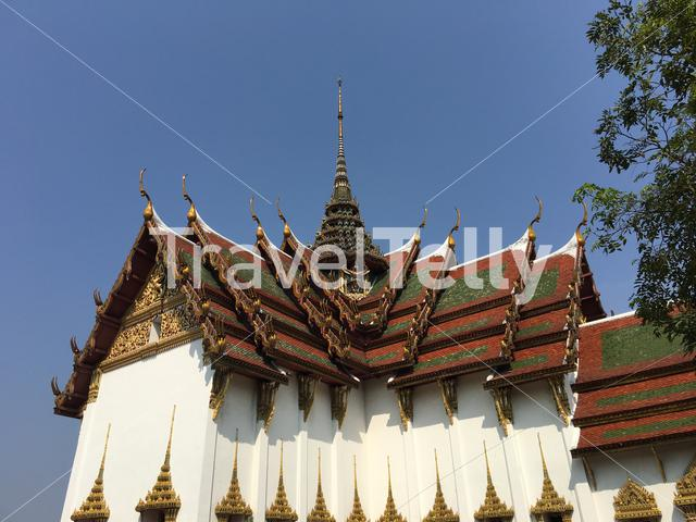 Dusit Maha Prasat Palace (The Grand Palace) in Ancient Siam Bangkok Thailand