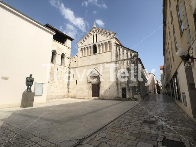 St. Chrysogonus Church in Zadar Croatia