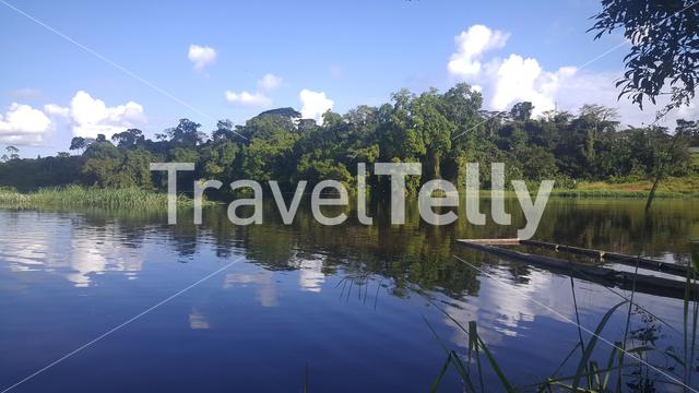Campo River at the Gabon and Cameroon border in Africa