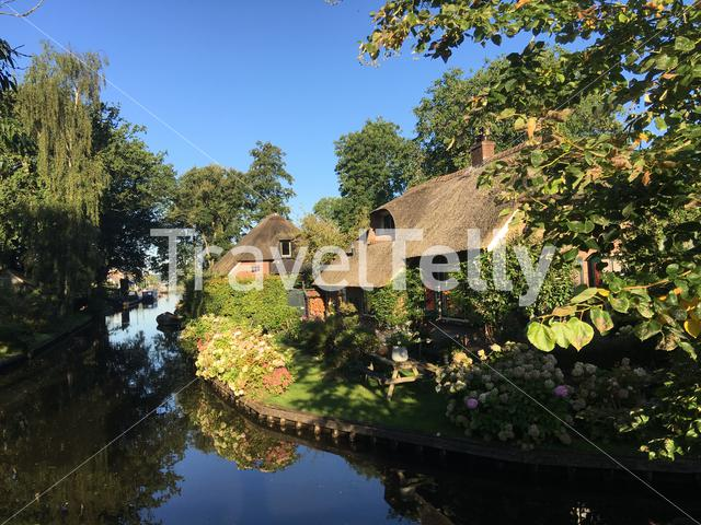 Architecture in Giethoorn The Netherlands