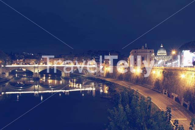 Im so proud of this shot! Look how beautiful Rome is at night!