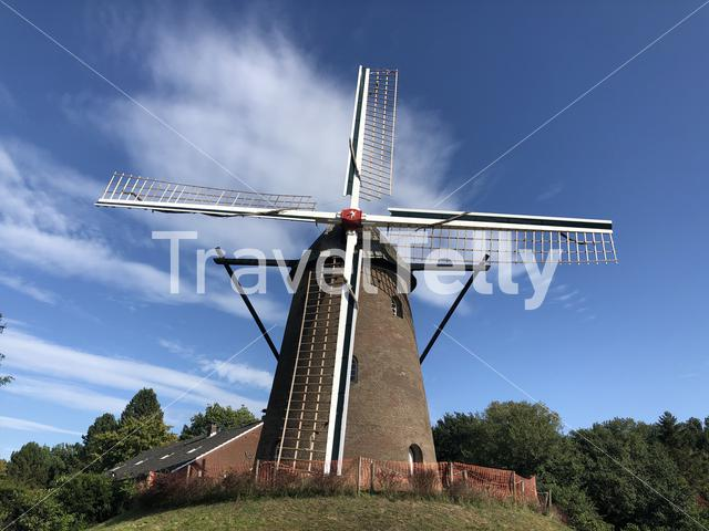 Windmill in the town Elten, Germany