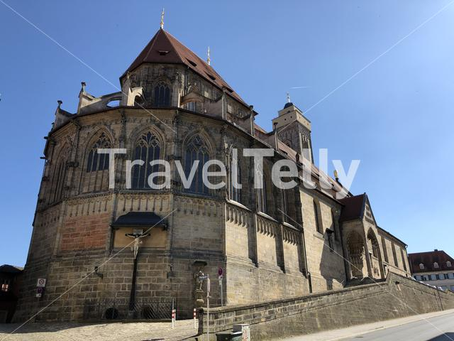 Obere Pfarre church in Bamberg Germany