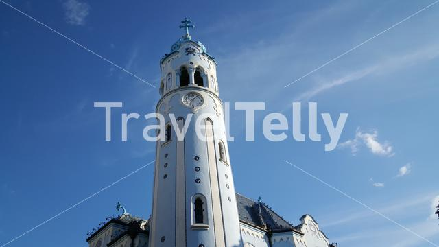 The Church of St. Elizabeth, commonly known as Blue Church, is a Hungarian Secessionist Catholic church in Bratislava