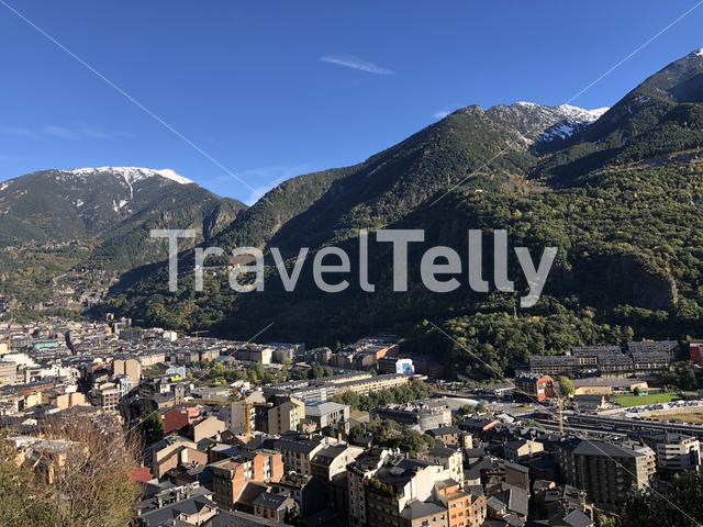 Andorra la Vella city view