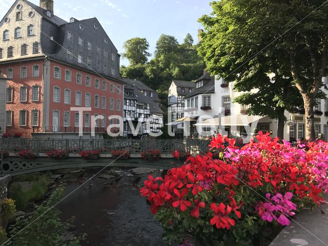 Monumental house das Rotes Haus in Monschau Germany