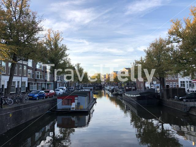 Canal in Groningen, The Netherlands