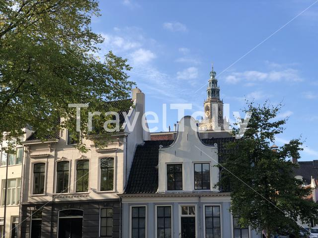 Old town of Groningen The Netherlands