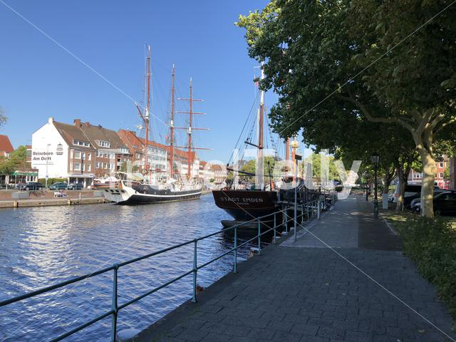 Dock in Emden Germany