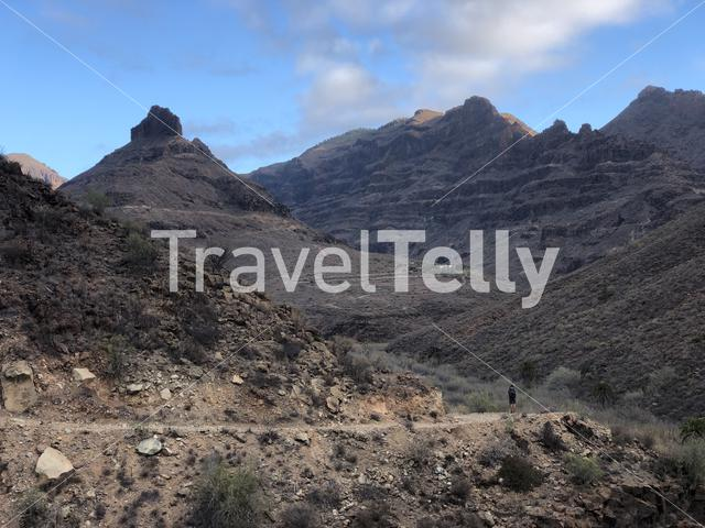 Hiking on the island Gran Canaria